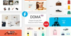 Doma – Google AMP Multi Vendor WooCommerce Theme
