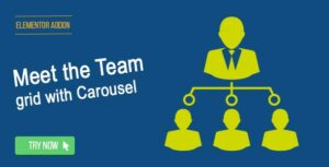 Elementor Page Builder – Meet the Team Grid with Carousel
