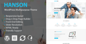 Hanson – Multipurpose WordPress Theme