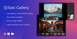 Epic Zoom Gallery WordPress Plugin & Add Ons for Elementor