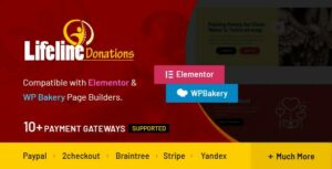 Lifeline Donations – Multidimensional WordPress Donations Plugin