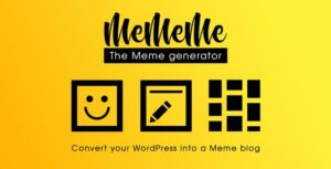 MeMeMe – Ultimate Meme Generator | WP Plugin