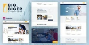 Read more about the article Bigger – Construction WordPress Theme