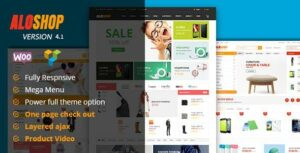 Alo Shop – Mega Market RTL Responsive WooCommerce WordPress Theme