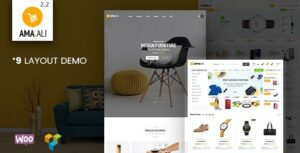 Ama.Ali – Market Furniture Shop WooCommerce WordPress Theme
