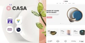 Casa – Furniture Ceramics WooCommerce Theme