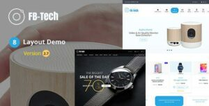 FB Tech – Digital shop RTL WooCommerce Theme