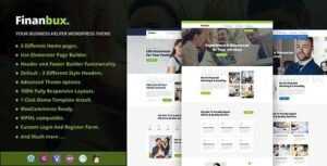 Read more about the article Finanbux – Responsive Business WordPress Theme