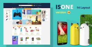 IsOne Store – RTL  WooCommerce WordPress For Digital Theme