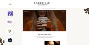 Larcorso – Coffee Shop WooCommerce Theme