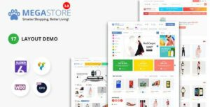 Read more about the article Mega Marketplace Store RTL Responsive WooCommerce WordPress Theme