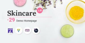 Skincare – Cosmetics Shop WooCommerce WordPress Theme