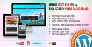 Video Player & FullScreen Video Background – WP Plugin
