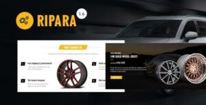 Ripara – Auto Repair & Car WooCommerce WordPress Theme