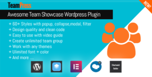 TeamPress – Team Showcase plugin