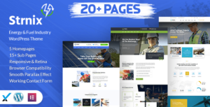 Strnix – Solar and Green Energy WordPress Theme