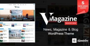 Vmagazine – Multi-Concept News WordPress Theme