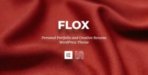 FLOX – Personal Portfolio & Resume WordPress Theme