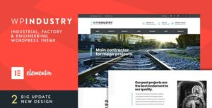 Read more about the article WP Industry – Industrial & Engineering WP theme