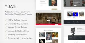 Read more about the article Muzze – Museum Art Gallery Exhibition WordPress Theme