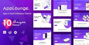 AppLounge – Multipurpose SaaS WordPress Theme
