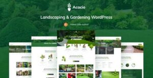 Acacio – Landscaping & Gardening WordPress