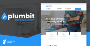 Plumbit – Plumbing WordPress Theme
