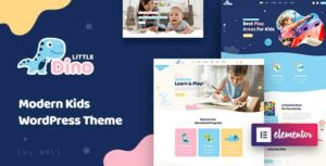 Littledino – Modern Kids WordPress Theme