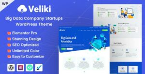 Read more about the article Veliki – Big Data Company WordPress Theme