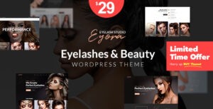 Eyora – Eyelash Extension & Lash Lift WordPress Theme