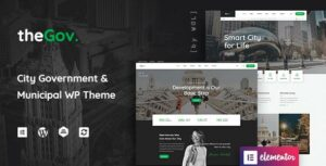 Read more about the article TheGov –  Municipal and Government WordPress Theme