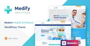 Medify – Health & Clinic WordPress Theme