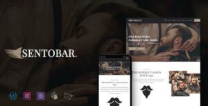 Sentobar – Beauty & Hair Salon WordPress Theme