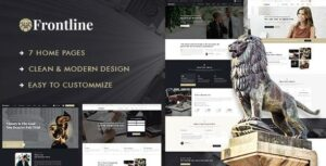 Frontline – Attorney & Lawyer WordPress Theme