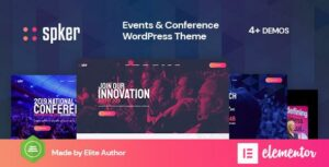 Spker – Conference & Event WordPress Theme