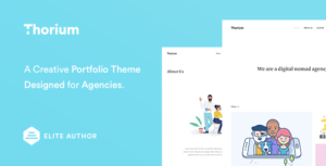 Thorium – Portfolio for Freelancers and Agencies