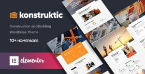 Konstruktic – Construction & Building WordPress Theme