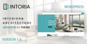Intoria – Interior Architecture WordPress Theme