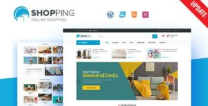 Read more about the article Shopping – WooCommerce WordPress Theme