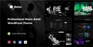 Noize – Music Industry WordPress