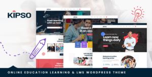 Kipso – Education LMS WordPress Theme