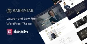 Barristar – Law, Lawyer and Attorney WordPress Theme