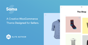 Read more about the article Soma – Creative WooCommerce Theme