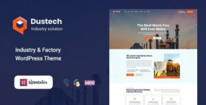 Dustech – Industry & Factory WordPress Theme
