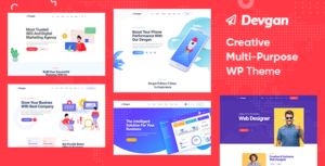 Devgan – Creative Multipurpose WordPress Theme
