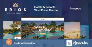 Erios – Resort & Hotel WordPress Theme