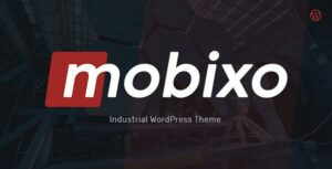 Read more about the article Mobixo | Industry WordPress Theme