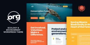 DotOrg – Environmental & Ecology WordPress Theme