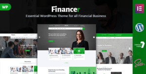 Financer – Consulting & Business WordPress Theme