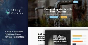 Only Cause – Charity & Foundation WordPress Theme